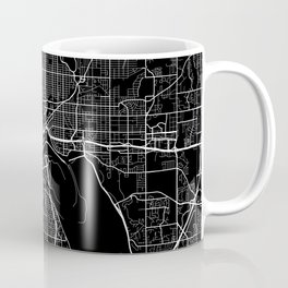 saint paul map minnesota Coffee Mug