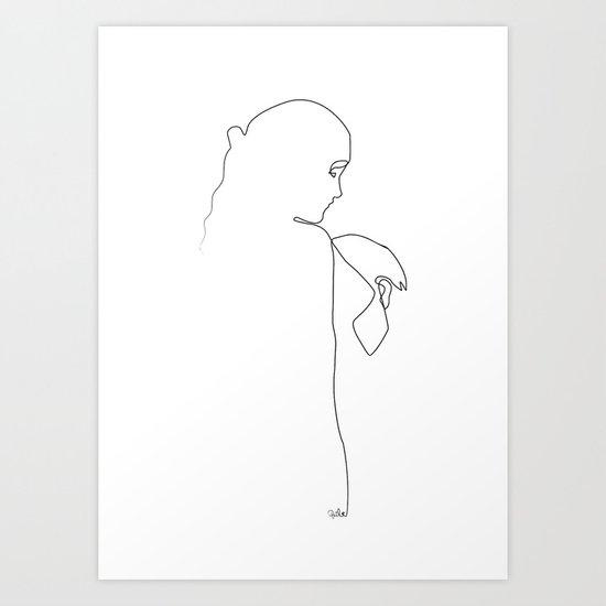 L'éternelle idole 2 Art Print