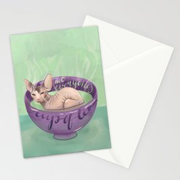 Not Everyone's Cup Of Tea - Sphynx Cat - Part 4 Stationery Cards