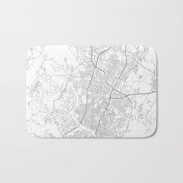 Austin, Texas Minimalist Map Bath Mat