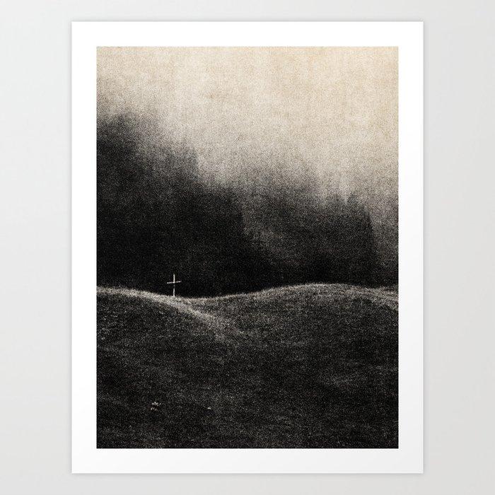 NOIR / Faith Art Print