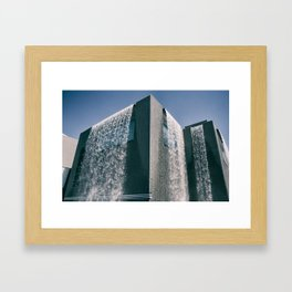 THE BUILDING Framed Art Print