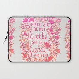 Little & Fierce – Pink Ombré Laptop Sleeve