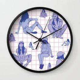 al fin chill v2 Wall Clock