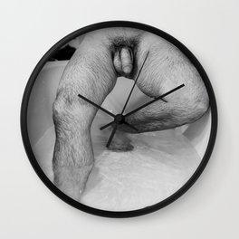 Male Descending Wall Clock