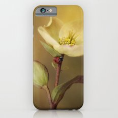 Ladybird on flower iPhone 6s Slim Case