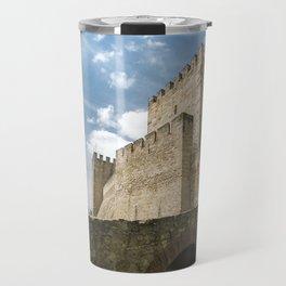 São Jorge Castle - Lisbon, Portugal Travel Mug