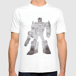 Optimus Black and White T-shirt