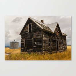 Abandoned House Idaho, United States Canvas Print