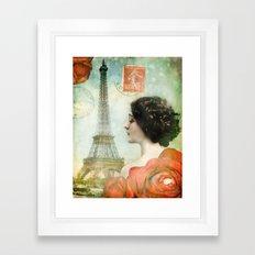 J'adore Paris Framed Art Print