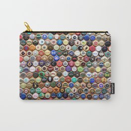 Beer and Ale Bottle Caps Carry-All Pouch