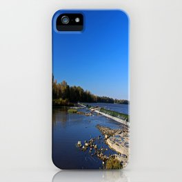 Providence Dam III iPhone Case