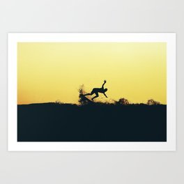 Surfing Costa Rica (180303-8631) Art Print