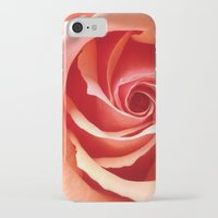 aperture iPhone & iPod Cases featuring Rose Aperture by Lita Mikrut