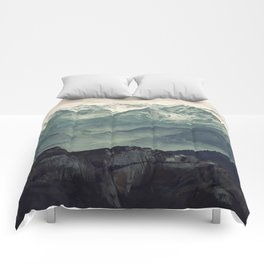 Mountain Fog Comforters