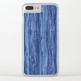 Blues Blue Clear iPhone Case