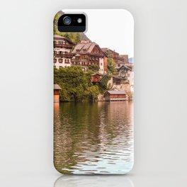 Sunny Hallstatt, Austria iPhone Case