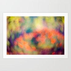Layers of Joy 1 Art Print