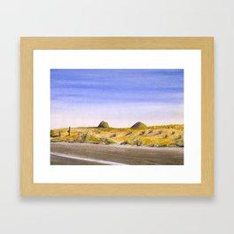 I-10, Cochise County, AZ Framed Art Print