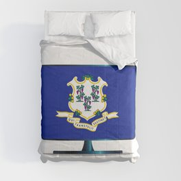 Connecticut Flag TV Comforters