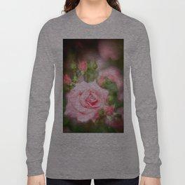 Rose pink Long Sleeve T-shirt