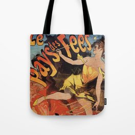 Land of the fairies Paris World Expo 1889 Tote Bag