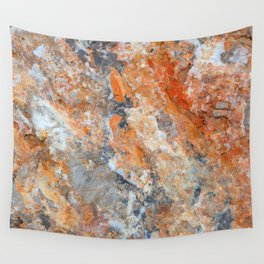 Rusty Rock Textures 47 Wall Tapestry