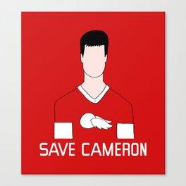 F*ck Ferris, Save Cameron Canvas Print
