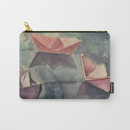 Boats on the wet sett Carry-All Pouch