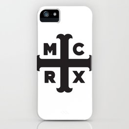 MCRX BLACK IPhone Case