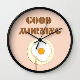 good morning Wall Clock