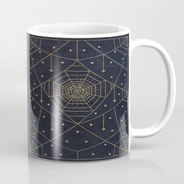 Spider Silk Stars Book Coffee Mug