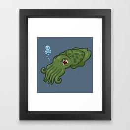 Cuttlefish - Cthulu Edition Framed Art Print