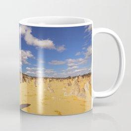The Pinnacles Desert in Nambung National Park, Western Australia Coffee Mug