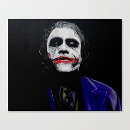"The Joker ""Heath Ledger"" Canvas Print"