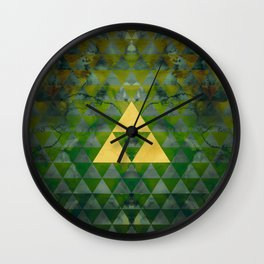 Link Geometry Wall Clock