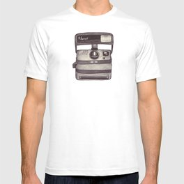 Ballpoint Palaroid Camera T-shirt