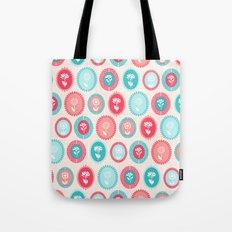 Kitsch Cameo Flora Tote Bag
