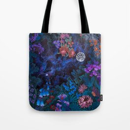 Space Garden Cosmos Tote Bag