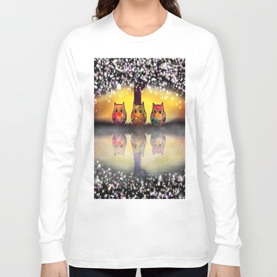 owl-262 Long Sleeve T-shirt