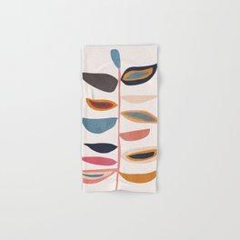 Abstract Plant Hand & Bath Towel