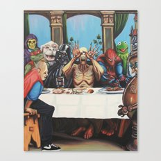 The Best Supper Canvas Print