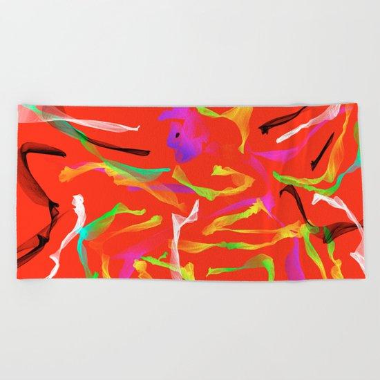 Sexy Dancer Beach Towel