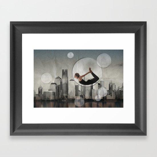 bow city Framed Art Print