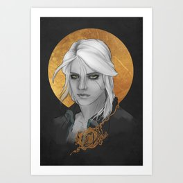 Ciri -The Witcher Art Print