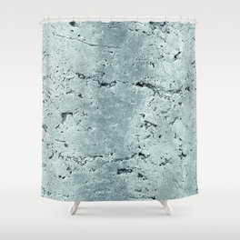 Old Stone Wall - textured VII Shower Curtain
