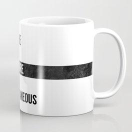 Be More Spontaneous Coffee Mug