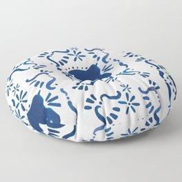 Bluebird of Happiness Floor Pillow