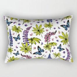 Blooming lupines Rectangular Pillow