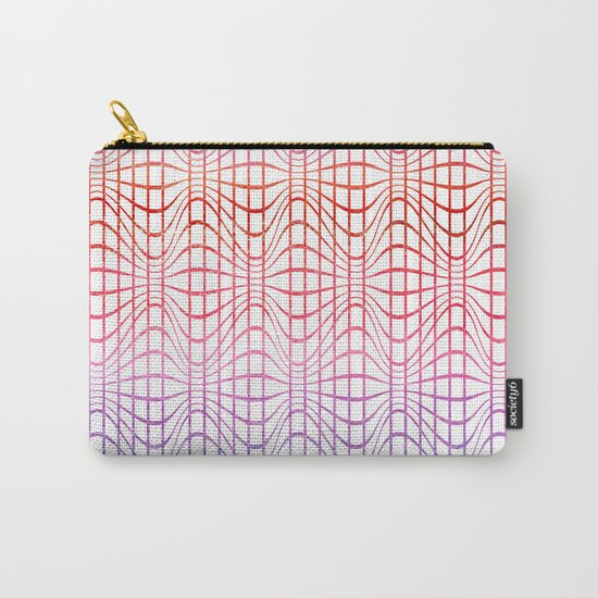 Straight and curved lines - Optical Game 19 Carry-All Pouch